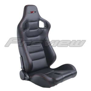 Leatherette seat